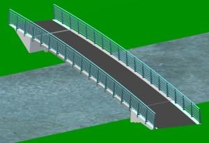 Pedestrian Bridge - Ballerup - Danmark